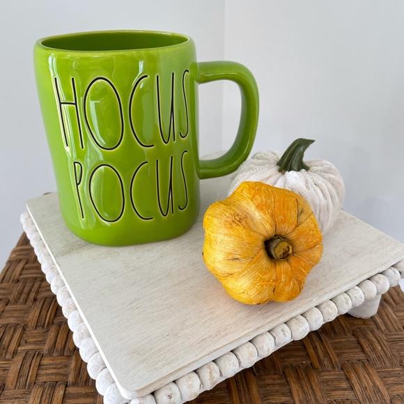 Lime Green Rae Dunn HOCUS POCUS Mug